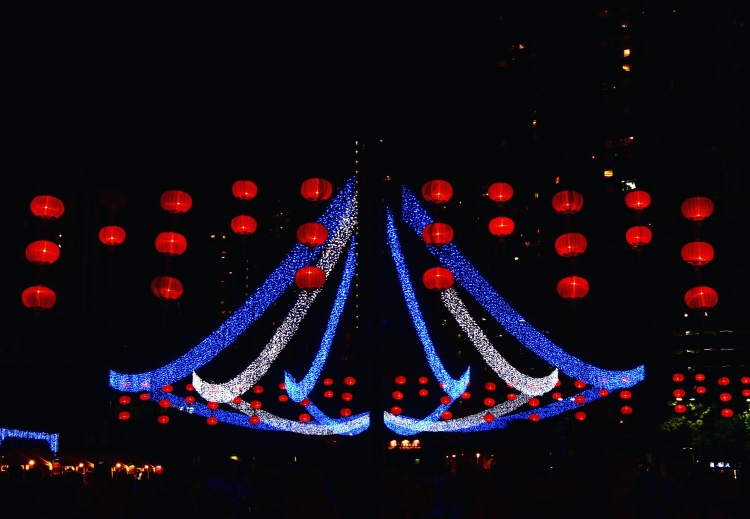 Urban Mid-Autumn Lantern Carnival, Victoria Park, Hong Kong | September 27, 2015 | Tanya McGovern
