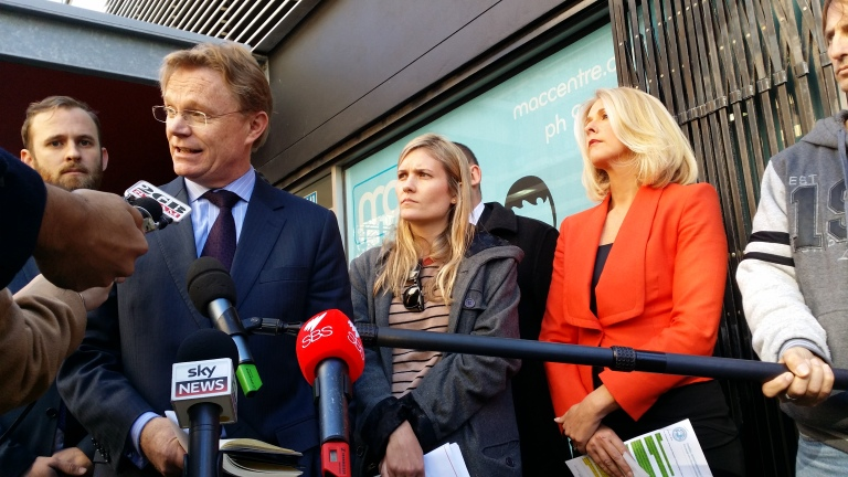 Hugh Riminton, Sophie McNeill and Tracy Spicer were among those who issued a statement supporting jailed journalist Peter Greste